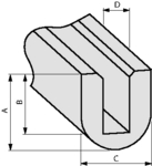 RA1-PVC-BK-75M