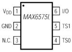 MAX6575LZUT+